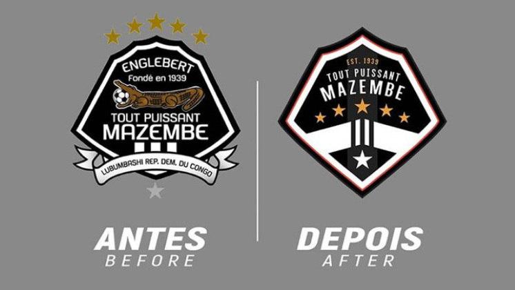 Redesenho de escudos de futebol: Mazembe