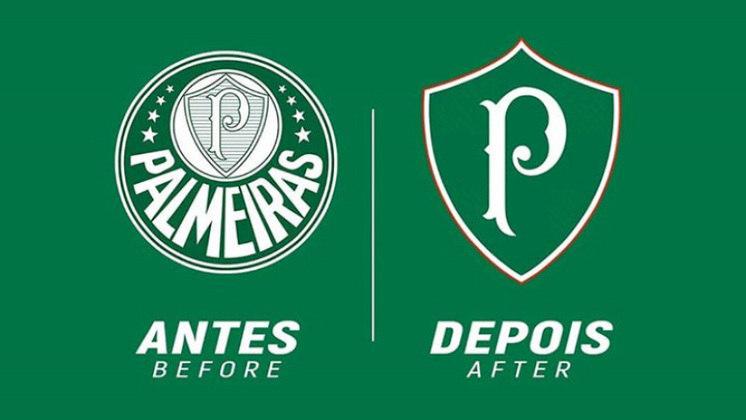 Redesenho de escudos de futebol: Palmeiras