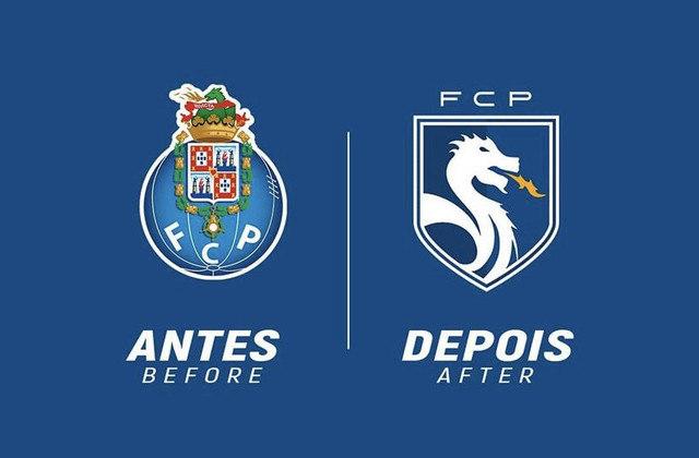 Redesenho de escudos de futebol: Porto