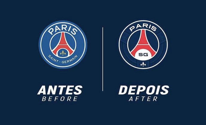 Redesenho de escudos de futebol: PSG