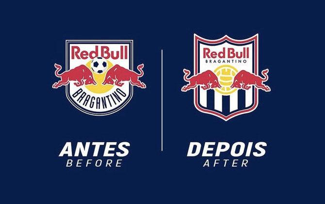 Redesenho de escudos de futebol: Red Bull Bragantino
