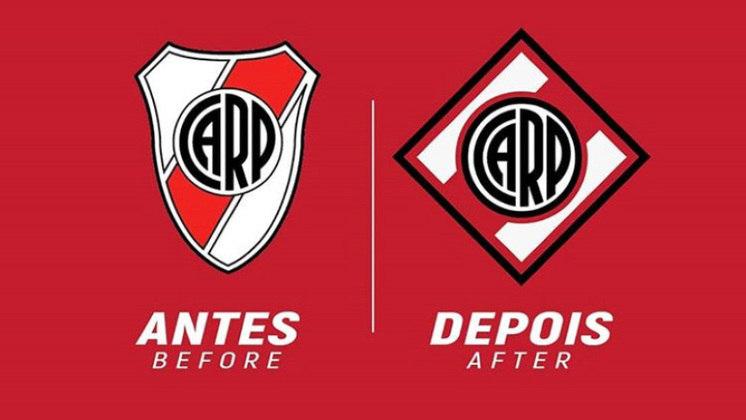 Redesenho de escudos de futebol: River Plate