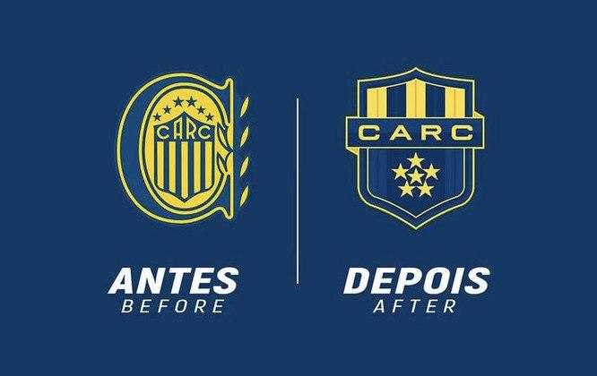 Redesenho de escudos de futebol: Rosario Central