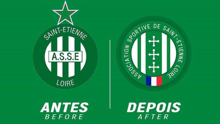 Redesenho de escudos de futebol: Saint-Etienne