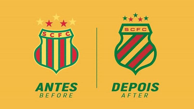 Redesenho de escudos de futebol: Sampaio Corrêa