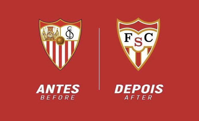 Redesenho de escudos de futebol: Sevilla