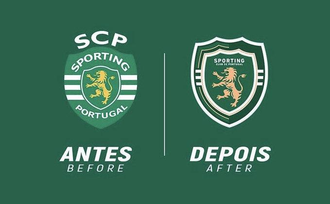 Redesenho de escudos de futebol: Sporting