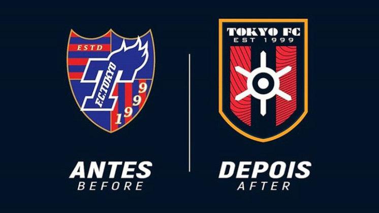Redesenho de escudos de futebol: Tokyo FC