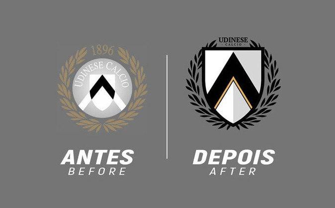 Redesenho de escudos de futebol: Udinese