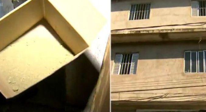 Casa explode e policiais descobrem que o local era uma refinaria de drogas