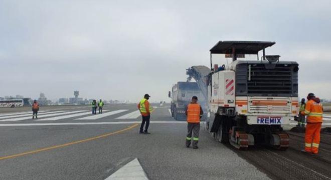 Primeira operação programada é a chegada do voo 3009, da Latam,às 10h05