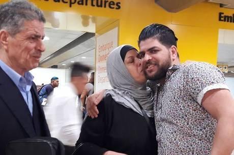 Anas Obeid se despediu dos pais em 30 de março