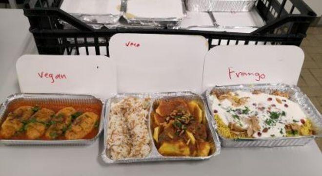 Restaurante sírio enviou comida para hospital de Lisboa