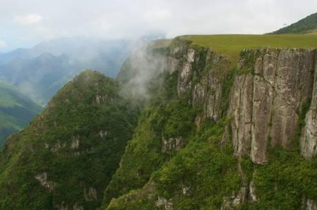 Região de cânions em São José dos Ausentes (RS)