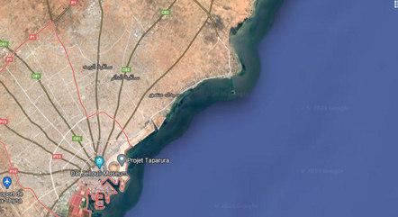 Região de Sfax, onde ocorreu o naufrágio