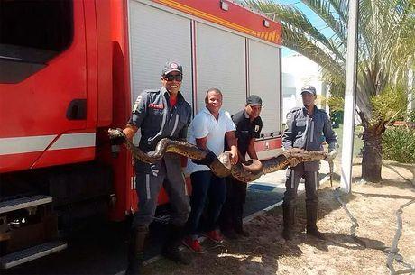 Resgate foi pelo 10º Grupamento de Bombeiros, que atua na região