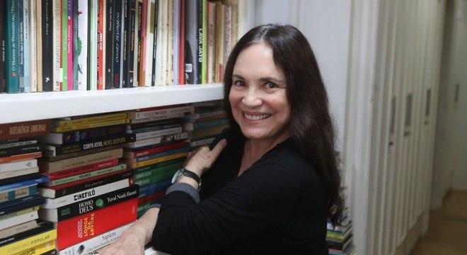 Regina Duarte, que aceitou participar de uma fase de testes na Cultura