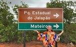 A apresentadora Regina Volpato também esteve no Jalapão e publicou fotos de sua viagem nas redes sociais: