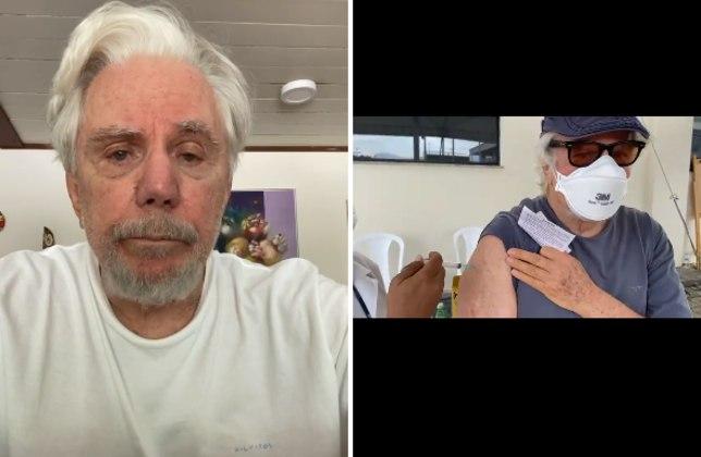 Reginaldo Faria, de 83 anos, desmentiu a notícia de que seria contra a vacina dacovid-19. Após boatos de que o ator não teria se imunizado, o filho, o também ator Marcelo Faria, compartilhou um vídeo mostrando o pai recebendo a segunda dose do imunizante