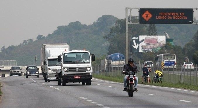 No km 367 a pista foi bloqueada por segurança, para o atendimento à ocorrência