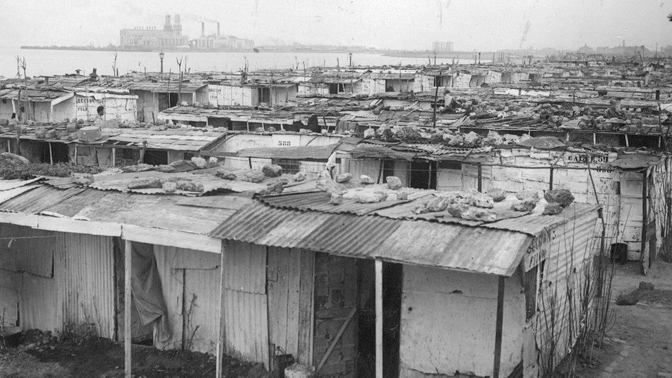 Registro da 'Villa Desocupación': favela foi destruída pelo poder público na década de 1930