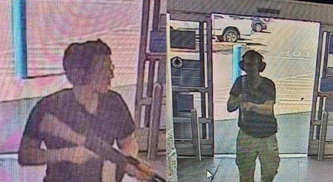 Registro de ataque no Texas foi feito por câmeras de segurança