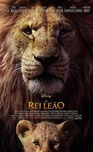 Cartaz da nova versão de Rei Leão