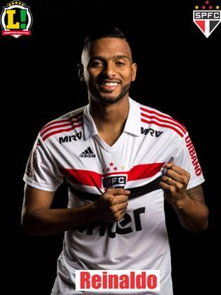 Reinaldo - 6,5: Mais uma vez atuando como um meia esquerda, conseguiu ajudar muito no ataque e deu a assistência para o terceiro gol do jogo, consolidando mais um bom jogo com a camisa do São Paulo.