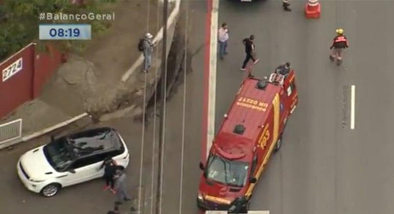 Reinaldo atropelou ciclista no momento em que entrava no CT da Barra Funda