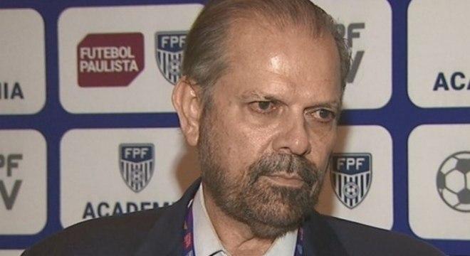Presidente da FPF, Reinaldo Carneiro, jurou:  Paulista seria decidido em campo