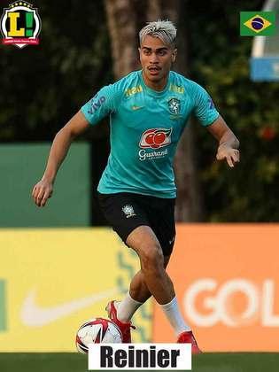 Reinier - 7,0 - Entrou, fez o gol de empate e ajudou na virada do Brasil.