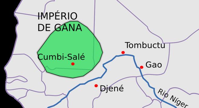 Reino de Gana - O país do ouro
