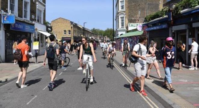 governo britânico investirá R$ 14 bilhões até 2025 para incentivar uso de bicicletas