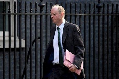 Diretor médico do governo britânico, Chris Whitty