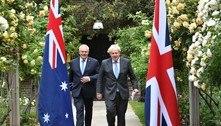Reino Unido anuncia acordo comercial 'histórico' com a Austrália