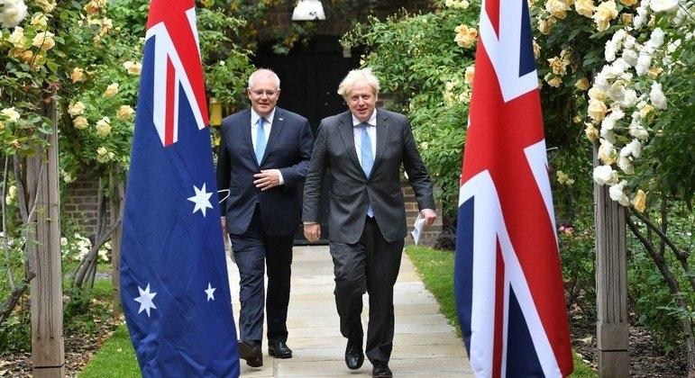 """Reino Unido e Austrália concluíram um acordo comercial """"histórico"""" pós-Brexit"""