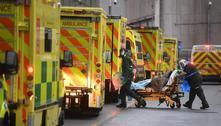 Reino Unido registra pela 1ª vez 60 mil casos de covid-19 em 24 horas