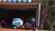 Moradores fazem protesto após reintegração de posse no ABC