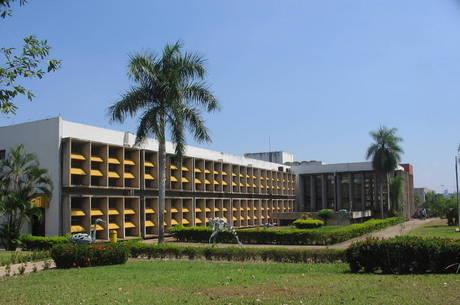 Reitoria da UFMT: instituição está sem luz