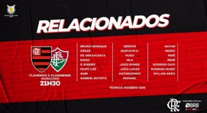 Relacionados - Flamengo x Fluminense