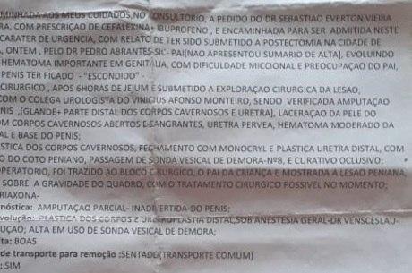 Caso aconteceu em Malacacheta (MG)