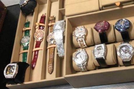 d58a58f551a Relógios avaliados em US  16 milhões