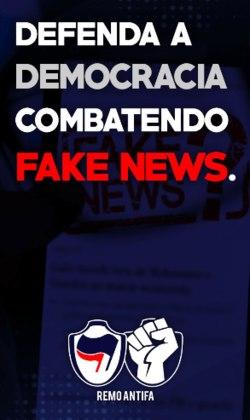 Remo Antifascista; Bahia Antifascista e Frente Esquadrão Popular, do Bahia; Vitória Antifascista; Frente 1914, do Paysandu, e ABC-NT e América-NT Antifascista.