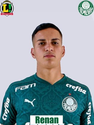 Renan: 5,0 - Não foi ao ataque e durante o primeiro tempo, improvisado na ala esquerda, não achou Caio Vidal. Depois da expulsão, na função de zagueiro, foi melhor.