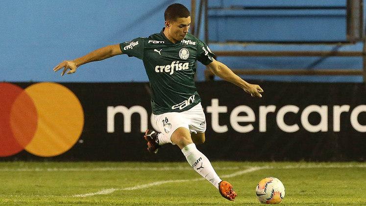 Renan - Posição: zagueiro/lateral-esquerdo - Clube: Palmeiras - Idade: 19 anos - Situação: ganhou chances com Abel Ferreira e vem se destacando no Palmeiras.