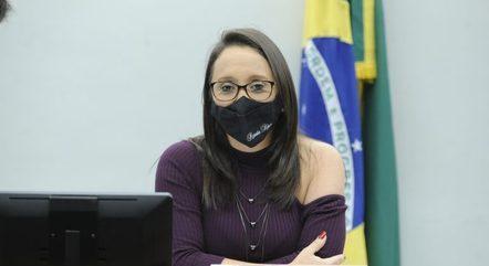 Renata Abreu (Podemo-SP) defende o distritão