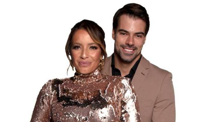 Renata e Leandro são o nono casal eliminado de Power Couple