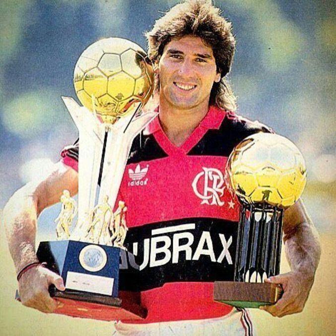 Renato foi jogador e ídolo no Flamengo