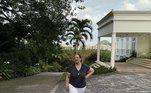 A mansão de dois andares conta com cinco suítesVeja também:Renato Aragão é formado em direito e já virou hit de Caetano Veloso
