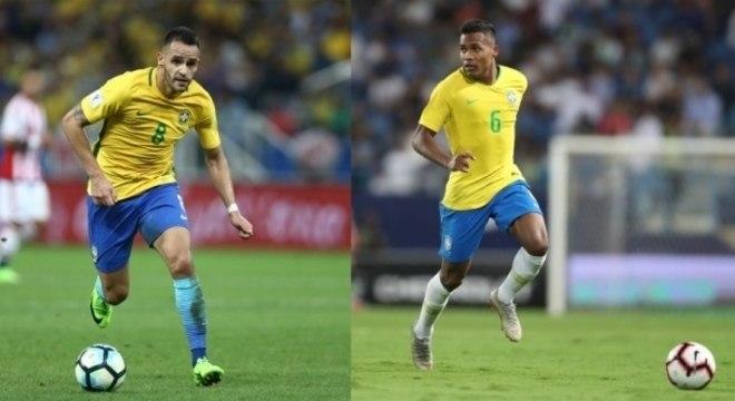 Renato Augusto e Alex Sandro foram chamados para amistosos de novembro
